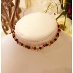 collier baroque ambre