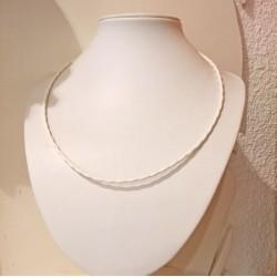 collier anneaux de vie© poly-métallique
