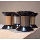 collier anneaux de vie© 6 métaux SN