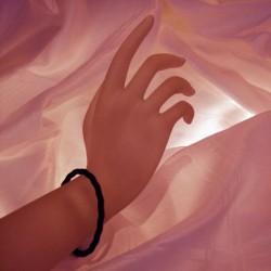 bracelet   7 métaux type Lakhovsky anneaux de vie ©
