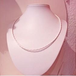 collier renforcé blanc  anneaux de vie©