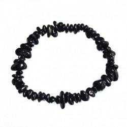 bracelet tourmaline noire baroque