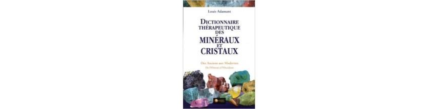 livres sur les minéraux et la lithothérapie