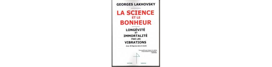 G. Lakhovsky Ouvrages sur et de